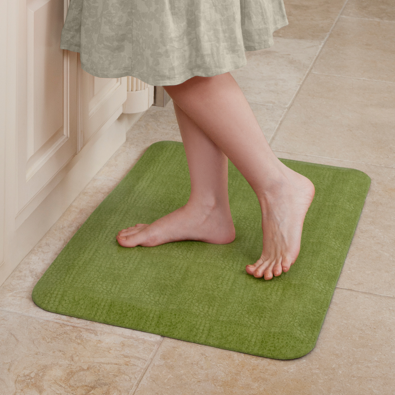 NewLife by GelPro Anti-Fatigue Comfort Mat 20x32 Pebble Palm