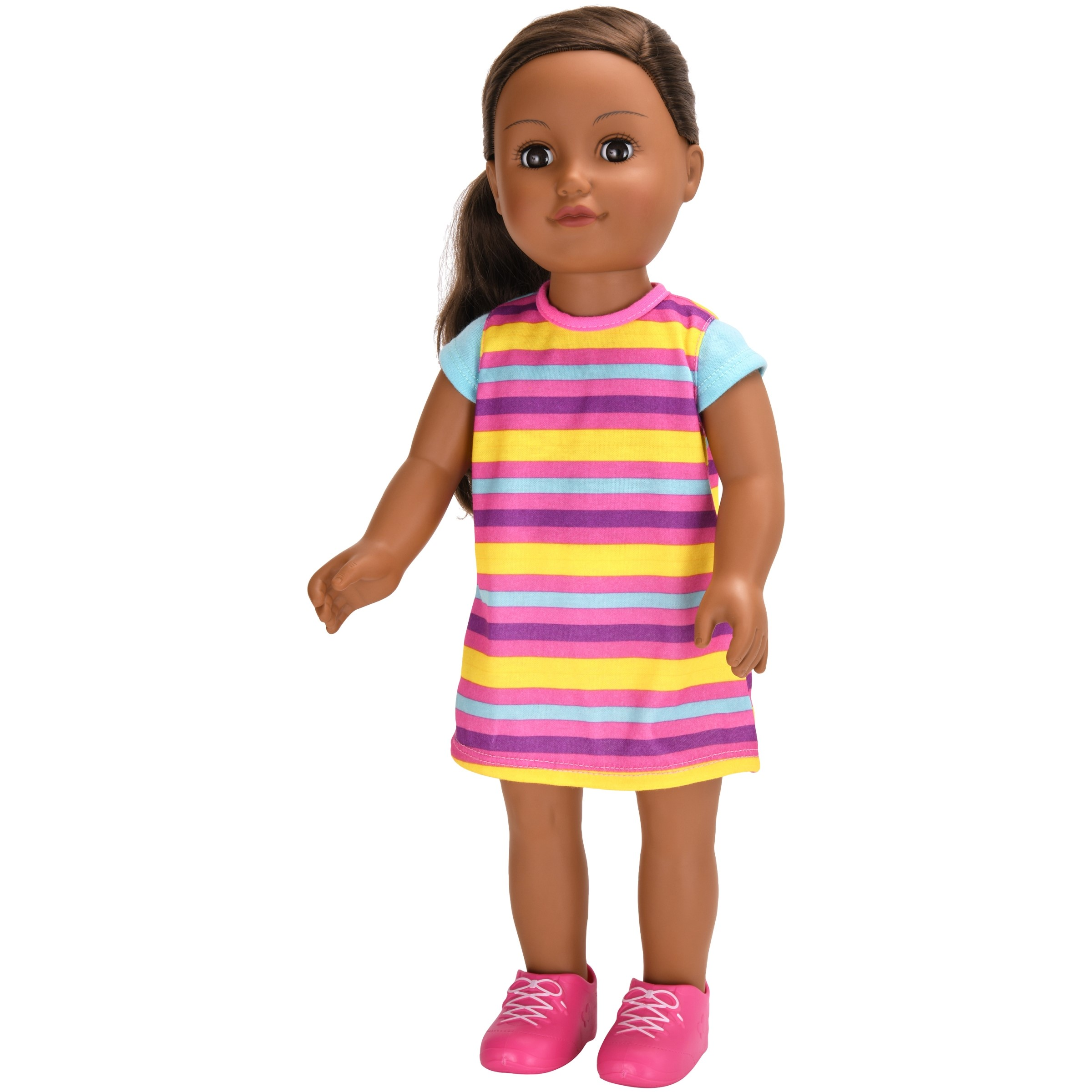 """My Life As 18"""" Poseable Aaliyah Doll, African American"""