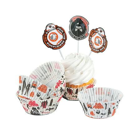 Fun Express - Star Wars Episode Vii Cupcake Picks 24pc for Birthday - Party Supplies - Licensed Tableware - Misc Licensed Tableware - Birthday - 24 Pieces](Cupcake Wars Halloween Episode)