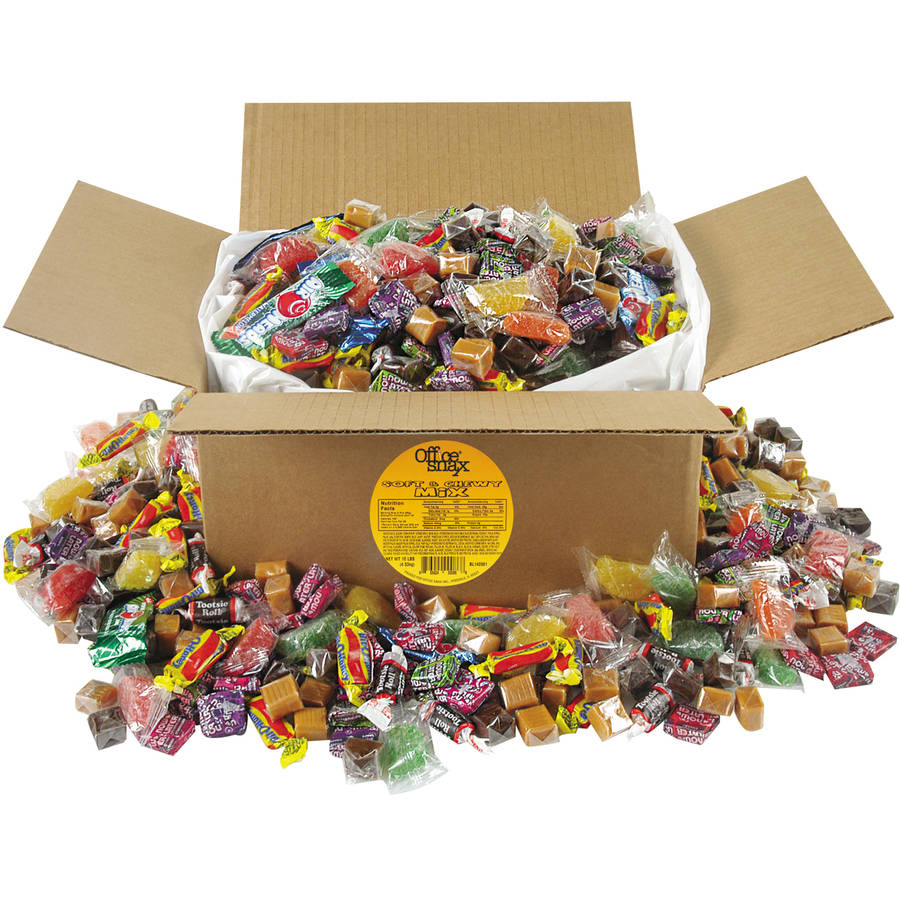 Office Snax Soft & Chewy Candy Mix, 160 oz