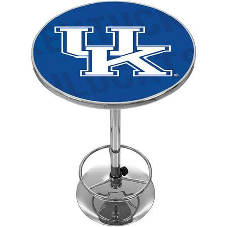 NCAA Kentucky Wildcats Chrome Pub Table - Wordmark
