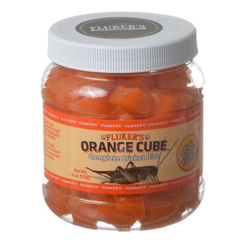 Flukers Orange Cube Complete Cricket Diet 6 oz - Pack of 10