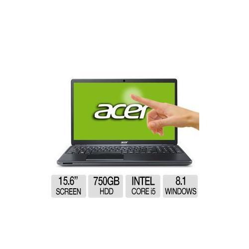 "Acer Aspire E1-572P-6403 Intel Core i5 6GB Memory 750GB HDD 15.6"" Touchscreen Notebook Windows 8.1"