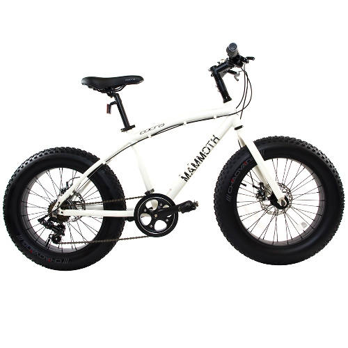 Fat Tire Bike by Corsa - 14'' White Mammoth-S
