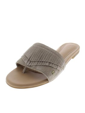 bc6b02b17ae Product Image Ugg Womens Binx Suede Fringe Slide Sandals