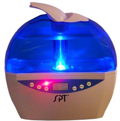Ultrasonic Humidifier with Sensor + LCD (Blue)