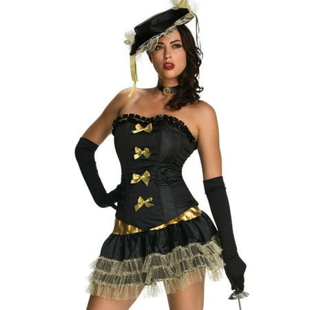 Sexy Musketeer Victorian Vampire Goddess Womens Halloween Party Costume Set - Girl Goddess Halloween Costumes