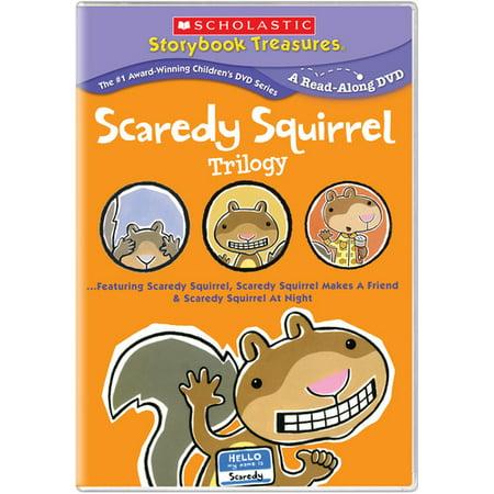 Scaredy Squirrel Trilogy (DVD)](Scaredy Squirrel Halloween)