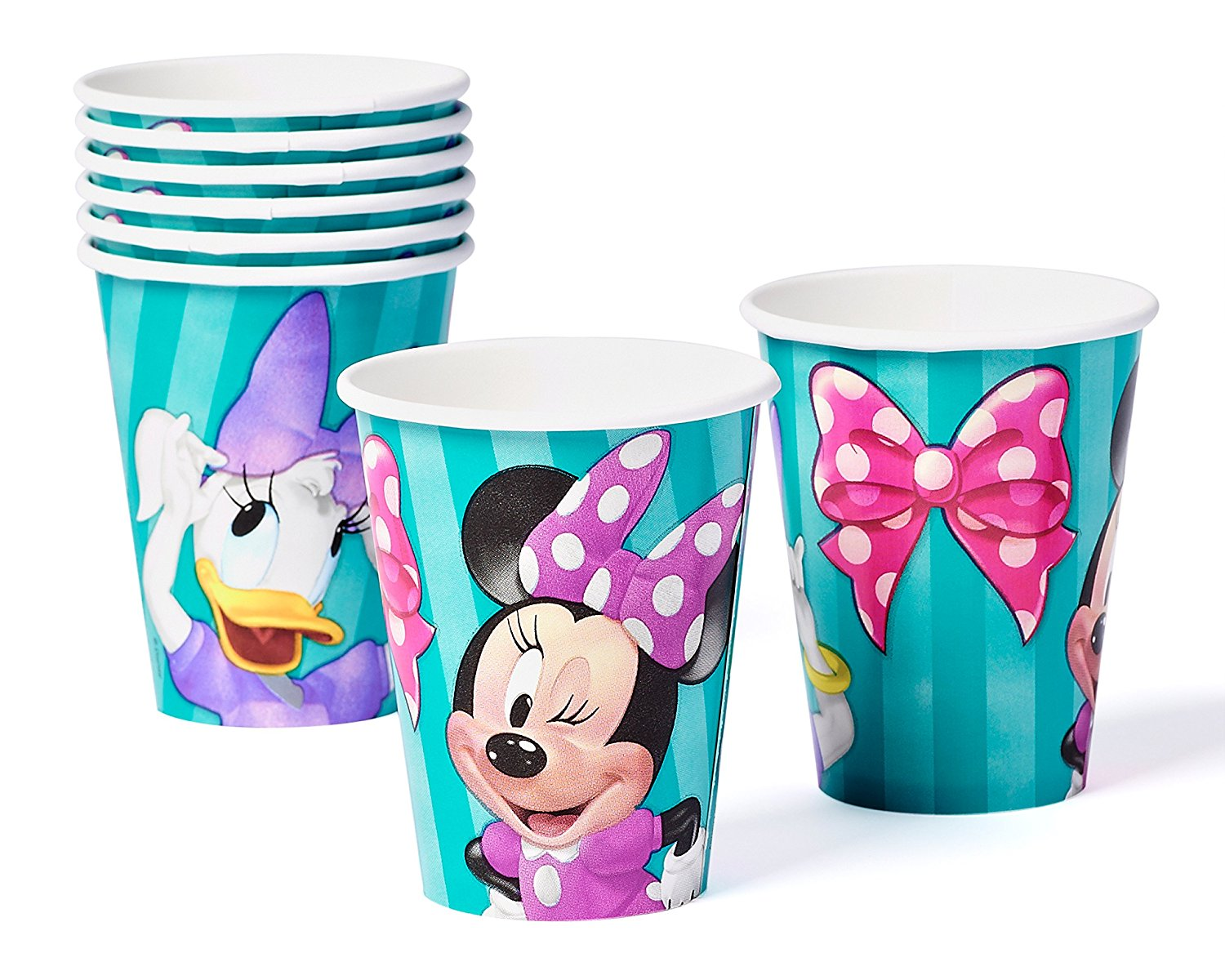 Minnie Mouse Bow Tique Paper Party Cups 9 Oz 8ct