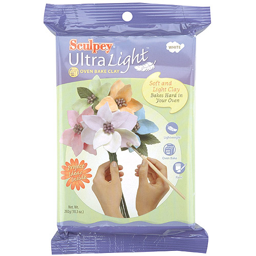 Sculpey Ultra Light Polymer Clay 8 oz White