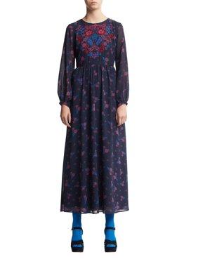 Scoop Women's Floral Print Maxi Dress
