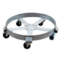 Drum Dolly,1100 lb.,6-1 2 In H,55 gal. ZORO SELECT 6FVH8 by VALUE BRAND
