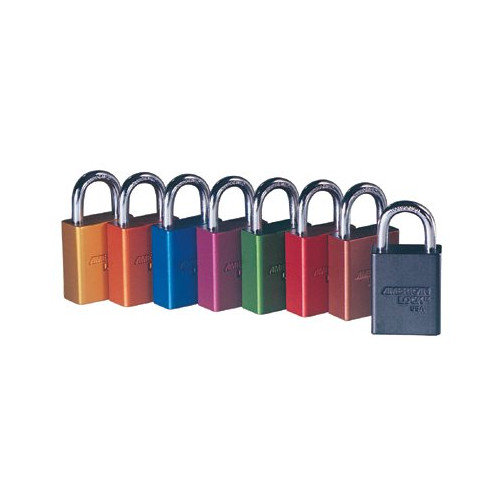 American Lock Solid Aluminum Padlocks - duranodic safety lockoutcolor coded secur