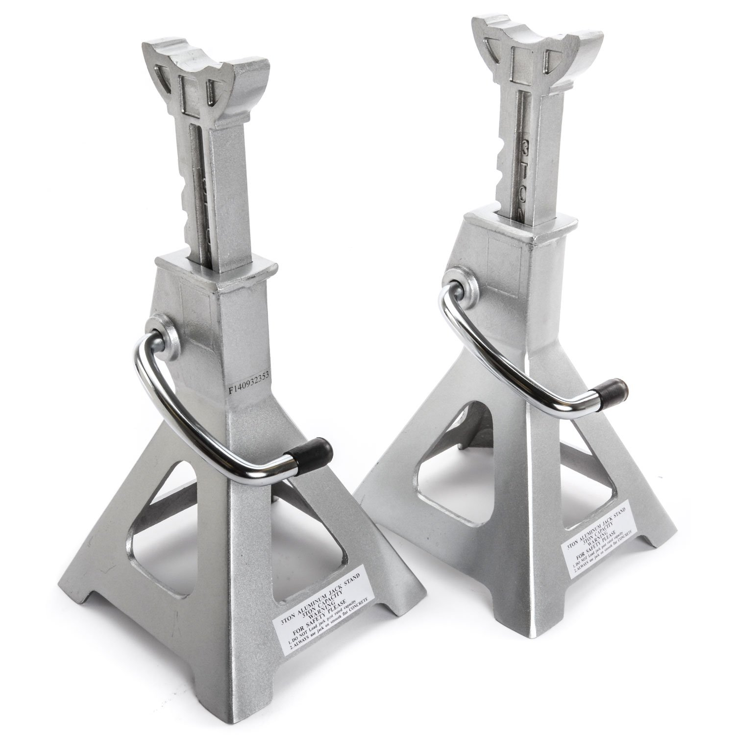 JEGS 80066 Aluminum Jack Stands 3-Ton Capacity Pair