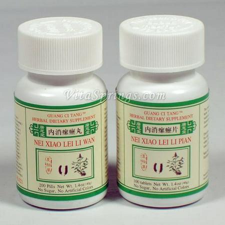 Nei Xiao Lei Li Wan (Pian), Pills or Tablets, Guang Ci
