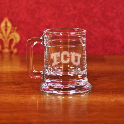 NCAA - TCU Horned Frogs 1 oz Deep Etched Colonial Shot Mug