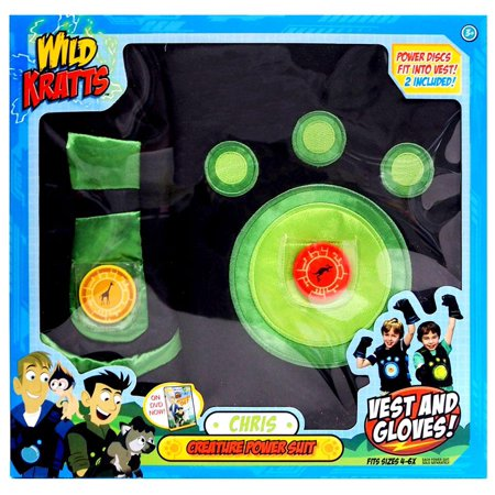 Wild Kratt Costume (Wild Kratts Creature Power Suit)
