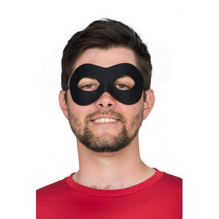 Black Mask Costume (Superhero Black Eye Mask Costume)