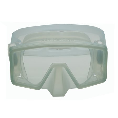 Mask Clear Scuba Dive - Scuba Choice Wide View Panoramic Dive Mask, Clear