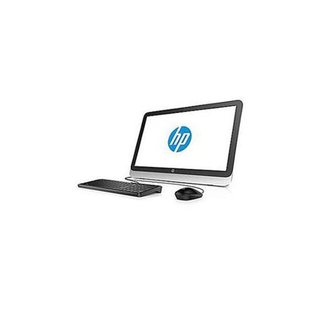 HP Natural Silver 23-R110 All-in-One Desktop PC with Intel