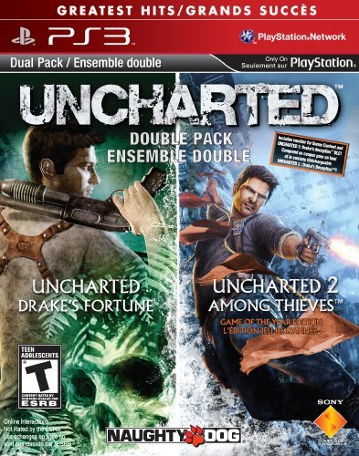 Sony 98375 Uncharted 1&2 Dual Pack Ps3
