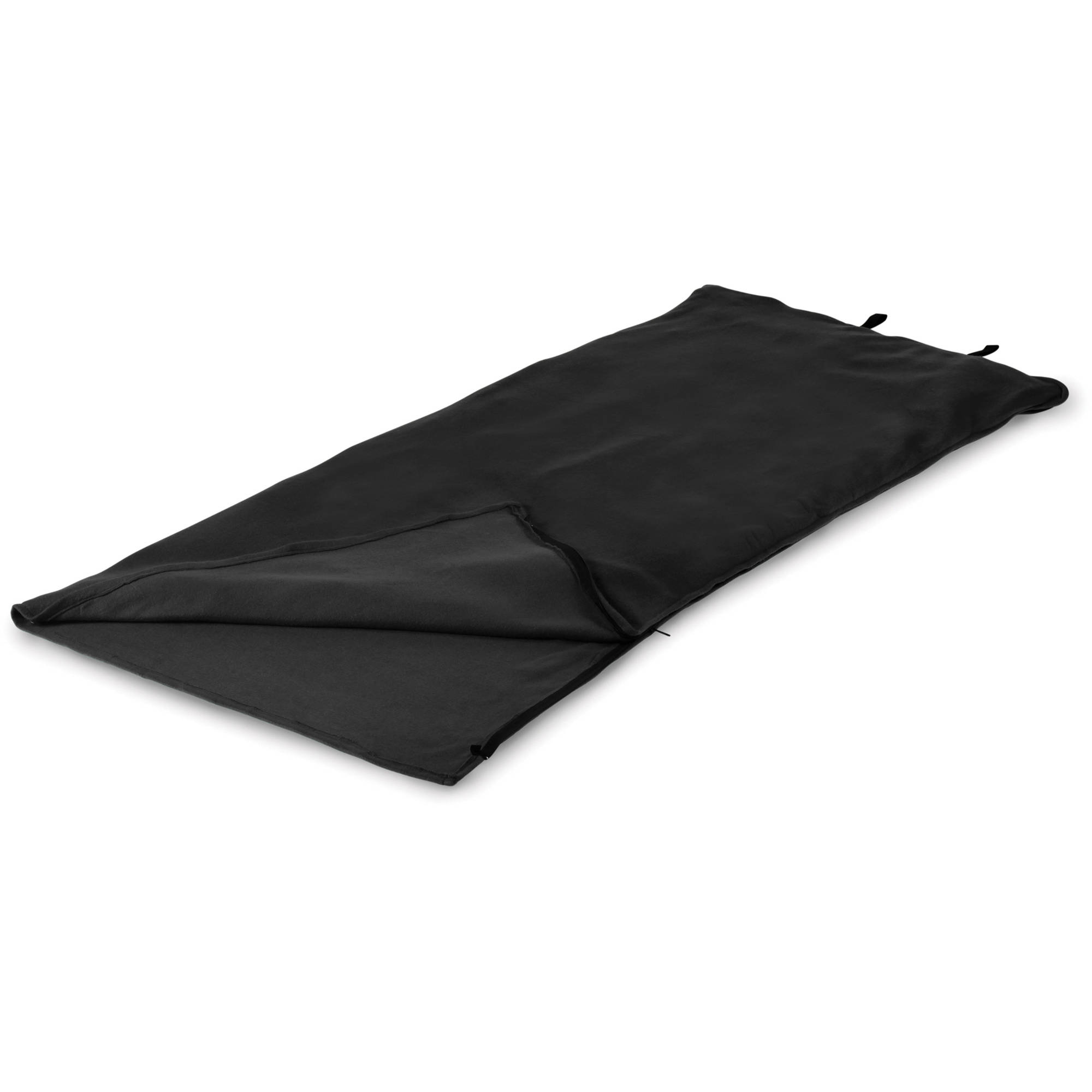 Stansport Fleece Sleeping Bag Black 32 in x 75 in by Stansport