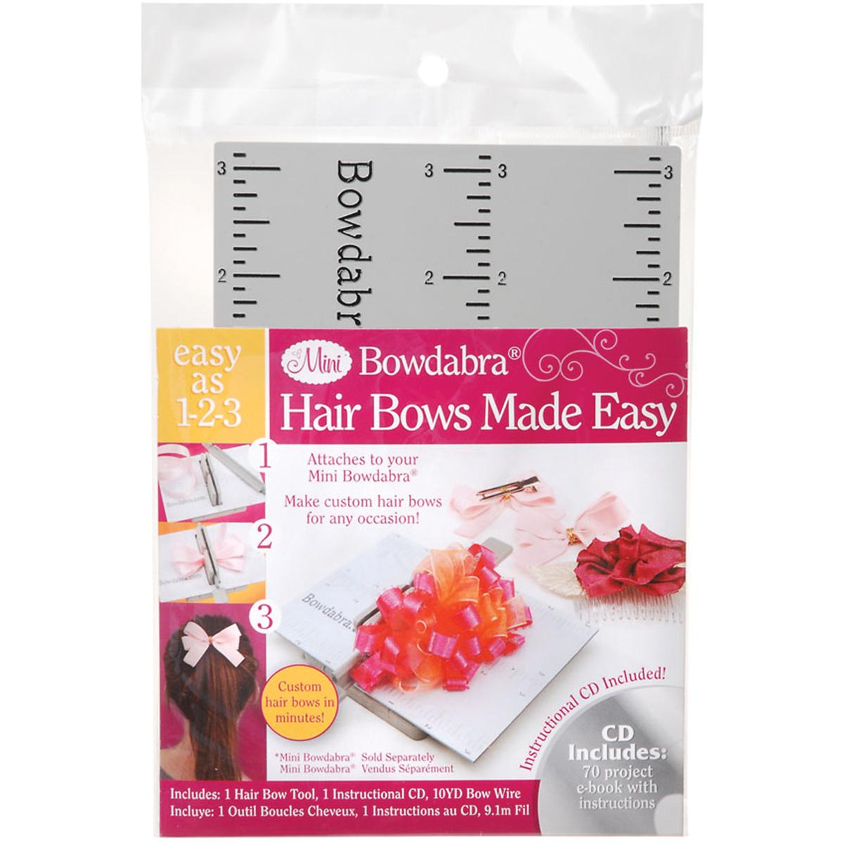 Mini Bowdabra Hair Bow Tool-