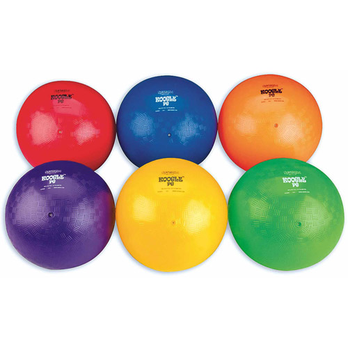 Spectrum Koogle PG Playground Balls, Set of 6
