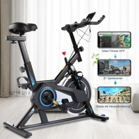 Exercise Bike, Indoor Exercise Cycling with APP and Phone Bracket