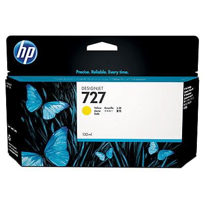HP 727 130-ml Yellow DesignJet Ink Cartridge ()