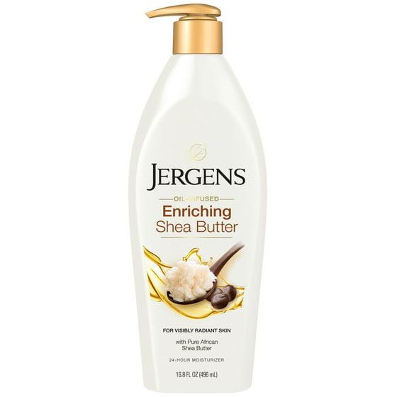 Jergens Enriching Shea Butter Lotion, 16 8 oz - Walmart com