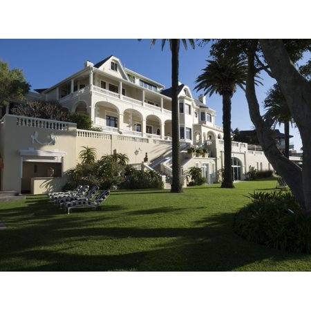 Garden of Ellerman House Bantry Bay Cape Town Western Province South Africa Poster Print ()