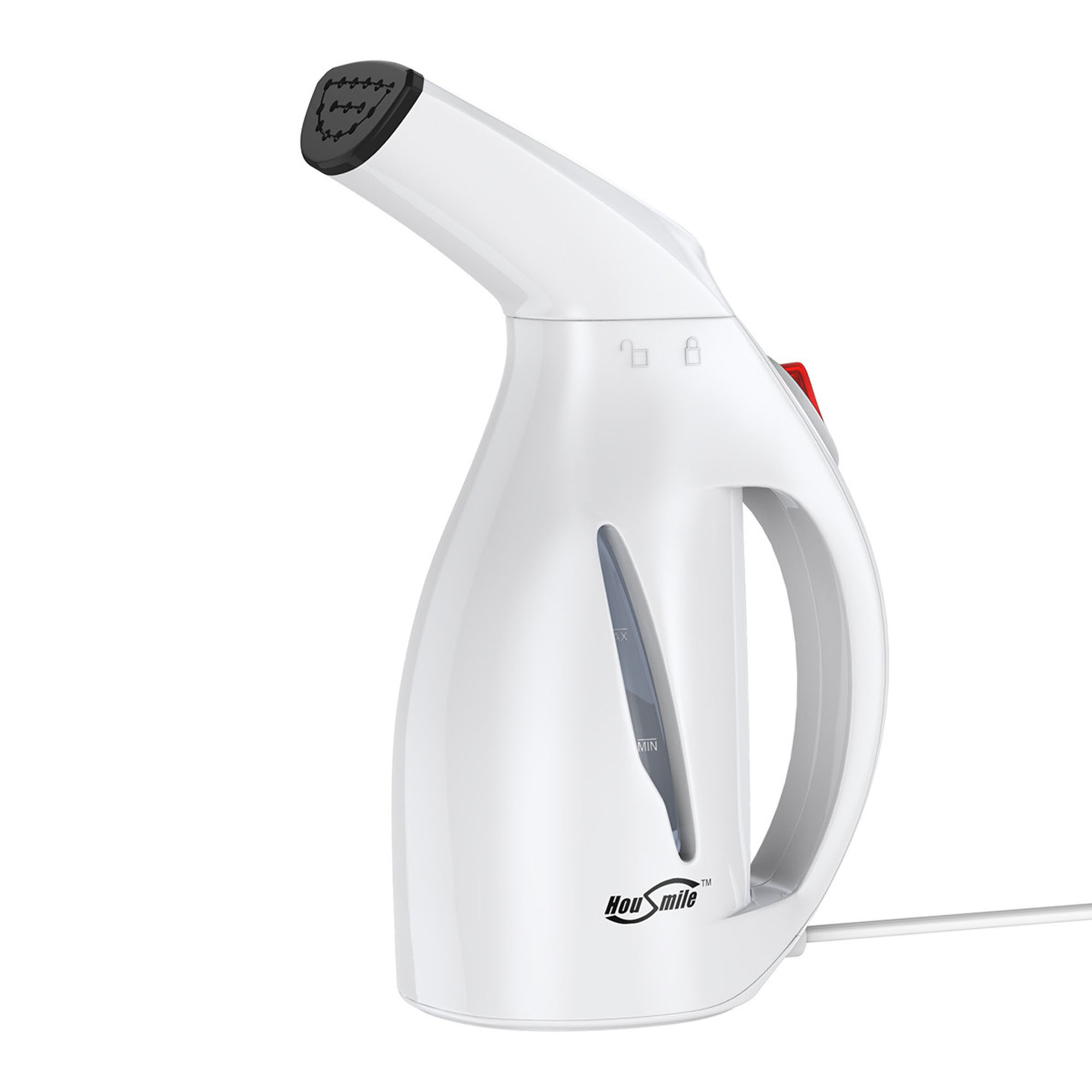 Housmile Handheld Garment Steamer Fast Heat-up 60ml Portable Fabric Steamer with Brush for Home and Travel