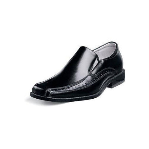 Stacy Adams DANTON Youth Boys Black Slip On Comfort Dress Shoes (12) by