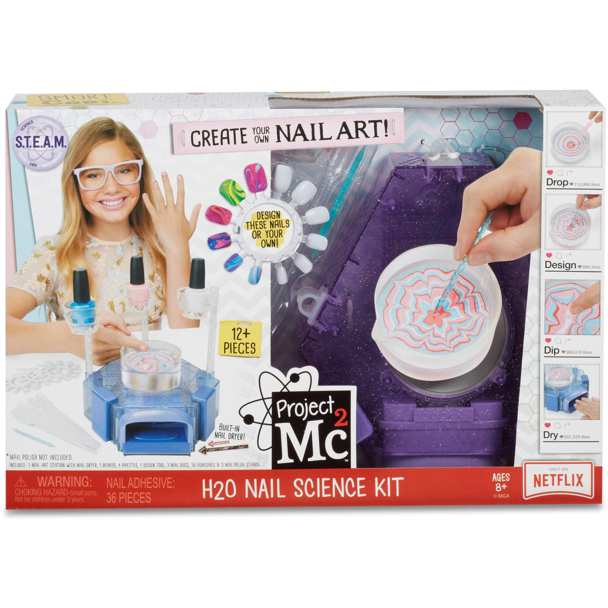 Project Mc2 H2O Nail Science Kit by MGA Entertainment