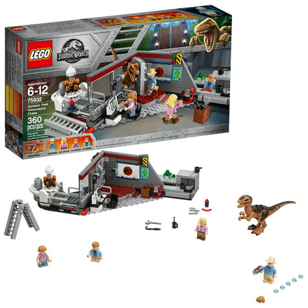LEGO Jurassic World Jurassic Park Velociraptor Chase (Best Building Structures In The World)
