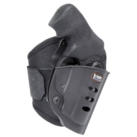 - FOBUS ANKLE RIGHT HAND RUGER SP101 SUEDE BLACK