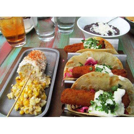 Laminated Poster Salsa Boston Mexican Food Food Taco Restaurant Poster Print 24 X 36
