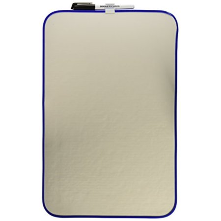Dooley Vinyl Framed Dry Erase Board, 11 x 17 Inches, 1 Board