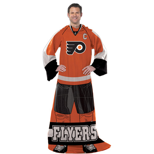 "NHL Player 48"" x 71"" Comfy Throw, Flyers"
