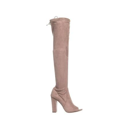 840a63ba1 Carlos by Carlos Santana Fitz Peep Toe Over The Knee Boots, Doe ...