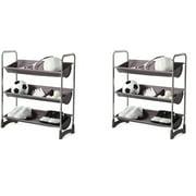 Neatfreak 3-Tier Stackable Multipurpose Garage Shelf, 2pk