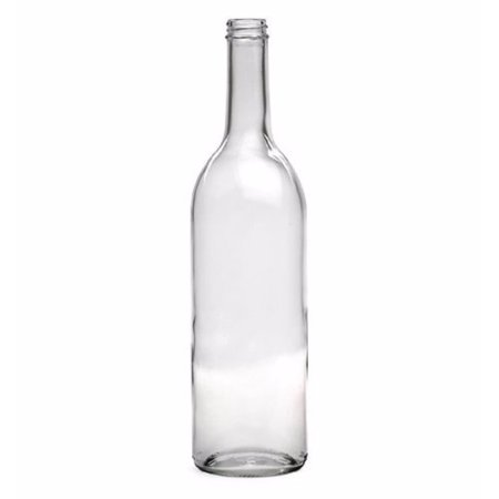 A15 Clear Medium Screw (750 Ml Clear Wine Bottles, Screw Cap)