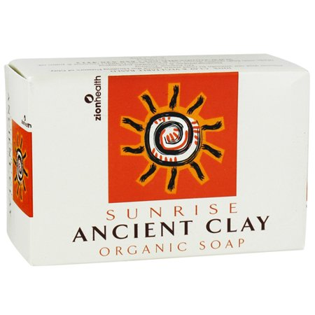 Zion Health Sunrise Ancient Clay Bar Savon bio - 6 Oz