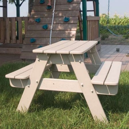 Miraculous Polywood Recycled Plastic Kids Picnic Table Download Free Architecture Designs Scobabritishbridgeorg