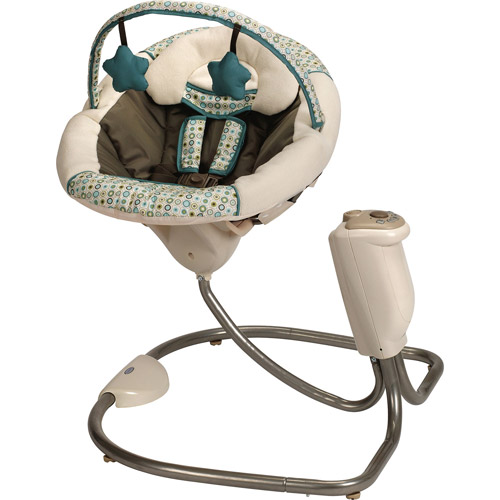 Graco - Sweet Snuggle Infant Soothing Swing, Oasis