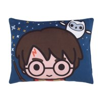 Warner Brothers Harry Potter Wizards In Training Navy Decorative Toddler Pillow