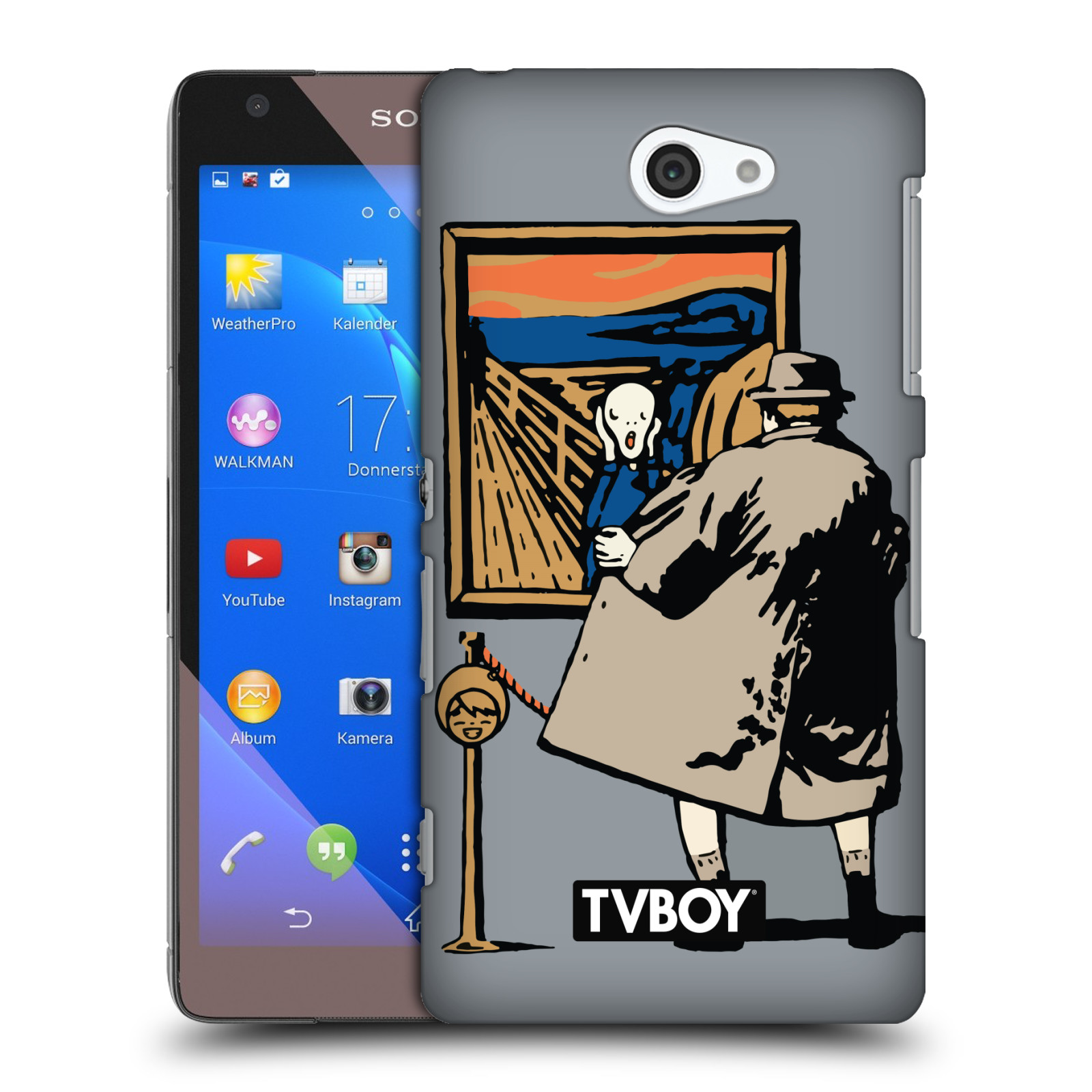 OFFICIAL TVBOY URBAN CELEBRITIES HARD BACK CASE FOR SONY PHONES 4