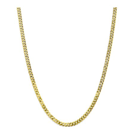 Leslies 10k 4.6mm Flat Beveled Curb Chain - image 5 of 5