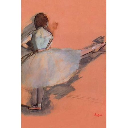 Ballet Dancer  High quality vintage art reproduction by Buyenlarge  One of many rare and wonderful images brought forward in time  I hope they bring you pleasure each and every time you look at them